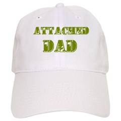 Attached Dad Baseball Cap