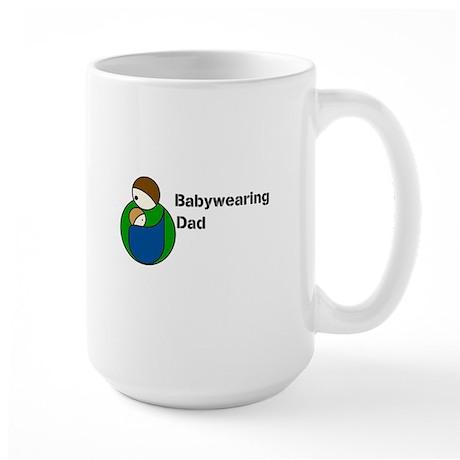 Babywearing Dad Large Mug