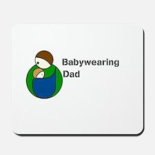 Babywearing Dad Mousepad