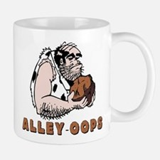 Funny Bowling Caveman Mug