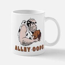 Funny Bowling Caveman Small Small Mug