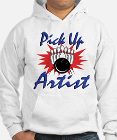 Funny Bowling Pick Up Artist Hoodie