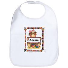 Teddy Bear, Alyssa - Bib