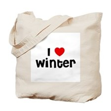 I * Winter Tote Bag