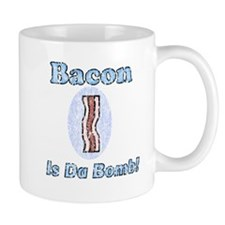 Vintage Bacon is Da Bomb Mug