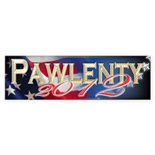 Pawlenty 2012 - Bumper Sticker
