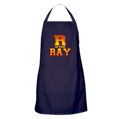 R is for Ray Apron (dark)