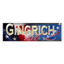 Newt Gingrich 2012 - Bumper Sticker