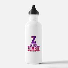 Z is for Zombie Sports Water Bottle