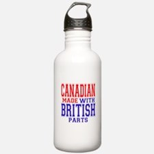 Canadian Made With British Pa Water Bottle