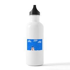 The Grumpy Snowman Water Bottle