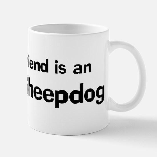 Best friend: Iceland Sheepdog Mug