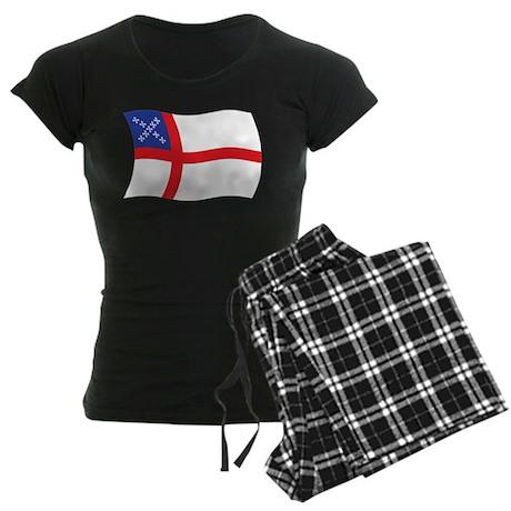 U.S. Episcopal Church Flag Women's Dark Pajamas