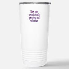 Go Around Get Dizzy Stainless Steel Travel Mug