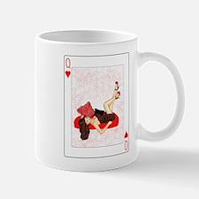 Queen of Hearts Pin-up Small Small Mug