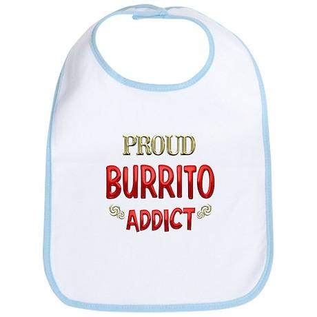 Burrito Addict Bib