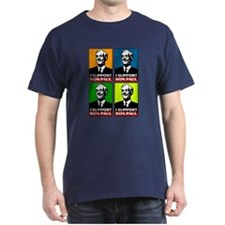 I Support Ron Paul Dark T-Shirt