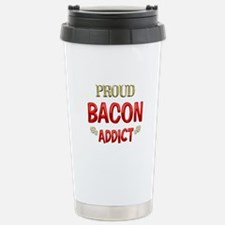 Bacon Addict Stainless Steel Travel Mug