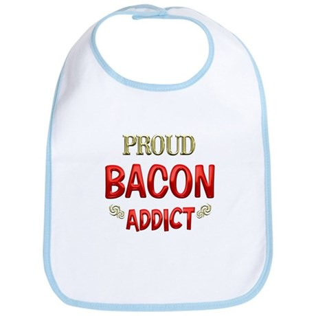 Bacon Addict Bib