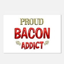 Bacon Addict Postcards (Package of 8)