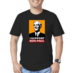 I Support Ron Paul 2 Men's Fitted T-Shirt (dark)