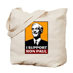 I Support Ron Paul 2 Tote Bag