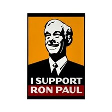 I Support Ron Paul 2 Rectangle Magnet