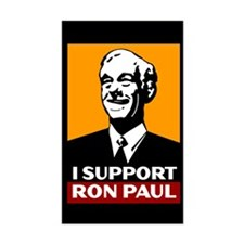 I Support Ron Paul 2 Sticker (Rectangle)