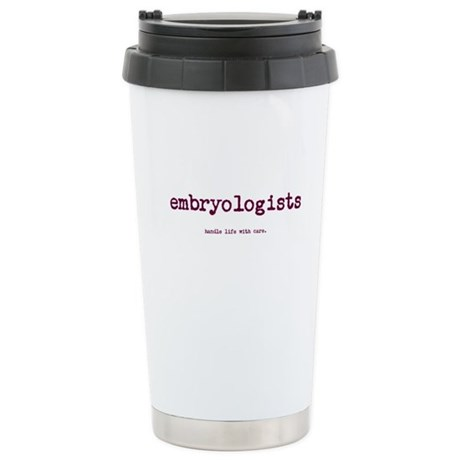 Embryologists Stainless Steel Travel Mug
