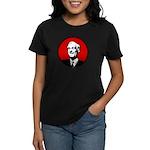 Circle - Red Women's Dark T-Shirt