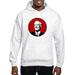 Circle - Red Hooded Sweatshirt