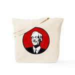 Circle - Red Tote Bag