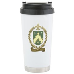 POTVIN Family Crest Travel Mug