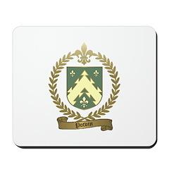 POTVIN Family Crest Mousepad