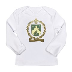 POTVIN Family Crest Long Sleeve Infant T-Shirt