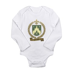 POTVIN Family Crest Long Sleeve Infant Bodysuit