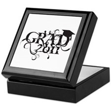 Fancy Grad 2011 Keepsake Box