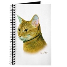 Abyssinian Cat Journal