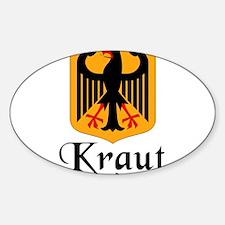 Cute Prussian Sticker (Oval)
