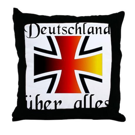 Deutschland uber alles Throw Pillow by krautkorner