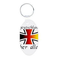 Deutschland uber alles Keychains