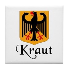 Kraut with Crest Tile Coaster
