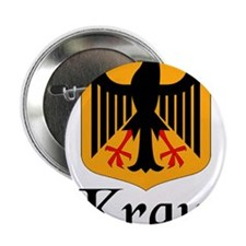 """Kraut with Crest 2.25"""" Button (10 pack)"""