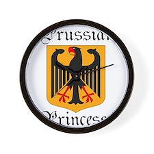 Prussian Princess Wall Clock