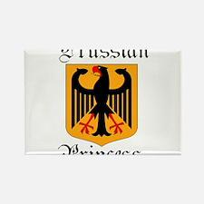 Prussian Princess Rectangle Magnet