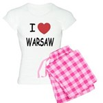 I heart warsaw Women's Light Pajamas