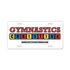 Christina Aluminum License Plate