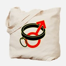 Male Submissive Collar Tote Bag