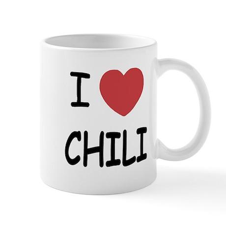 I heart chili Mug