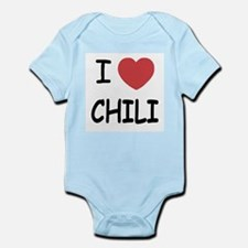 I heart chili Infant Bodysuit